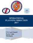 Operational Planning Direction FY17